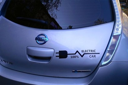 News electric vehicle charging station